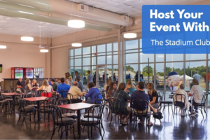 Host Your Event with Us! Rent the Stadium Club
