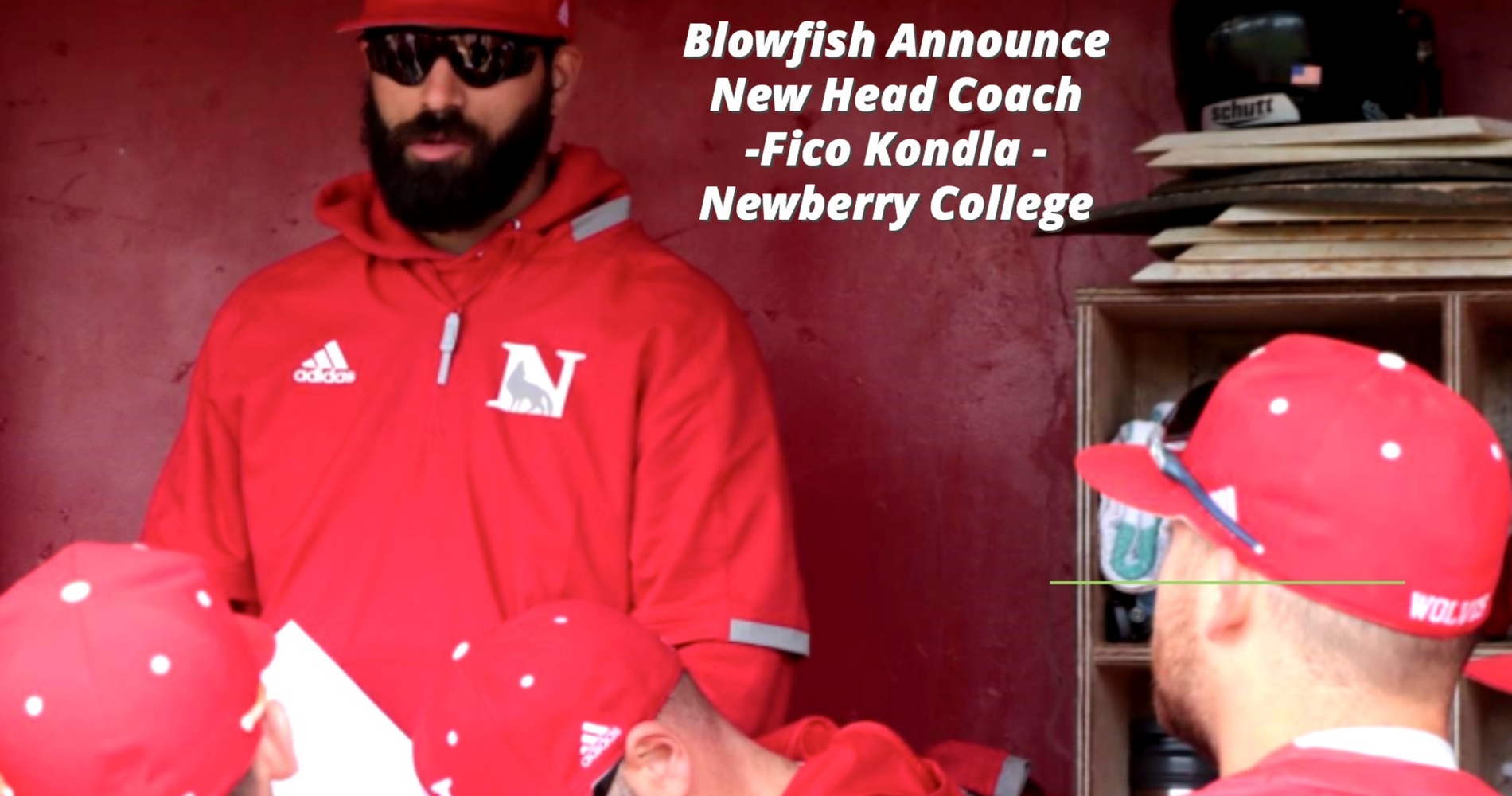 Blowfish Tab Kondla as Head Coach